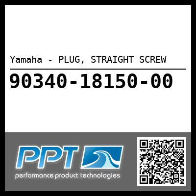 Yamaha - PLUG, STRAIGHT SCREW