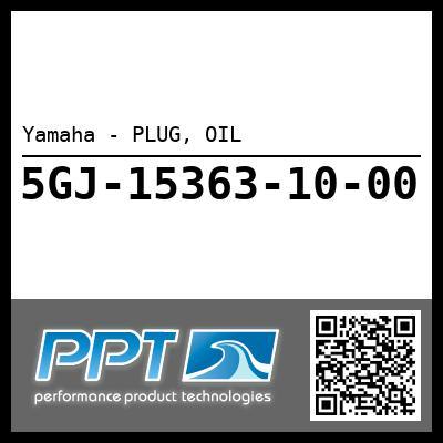 Yamaha - PLUG, OIL