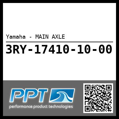 Yamaha - MAIN AXLE
