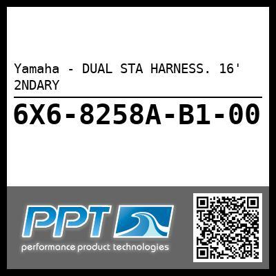 Yamaha - DUAL STA HARNESS. 16' 2NDARY