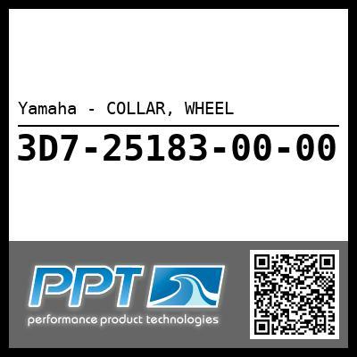 Yamaha - COLLAR, WHEEL