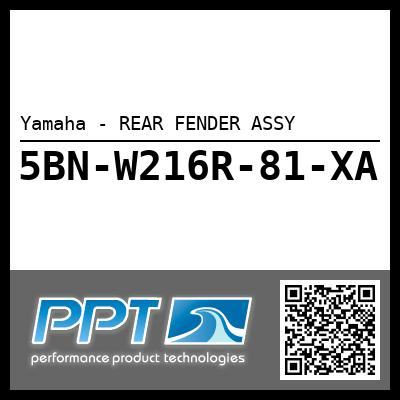 Yamaha - REAR FENDER ASSY