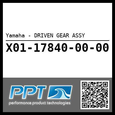 Yamaha - DRIVEN GEAR ASSY