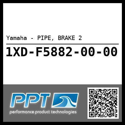 Yamaha - PIPE, BRAKE 2