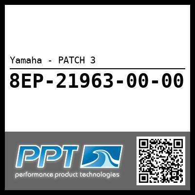Yamaha - PATCH 3