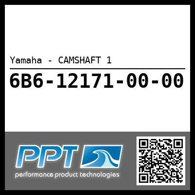 Yamaha - CAMSHAFT 1