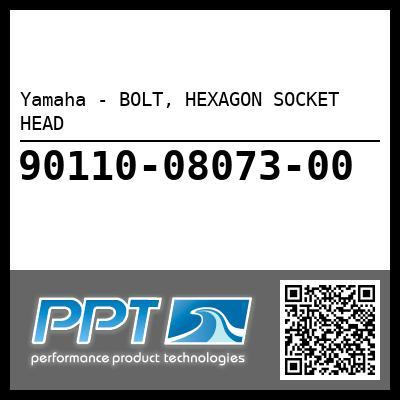 Yamaha - BOLT, HEXAGON SOCKET HEAD
