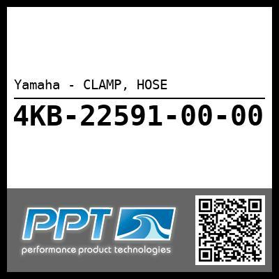 Yamaha - CLAMP, HOSE