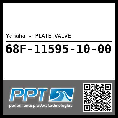 Yamaha - PLATE,VALVE