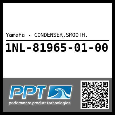 Yamaha - CONDENSER,SMOOTH.