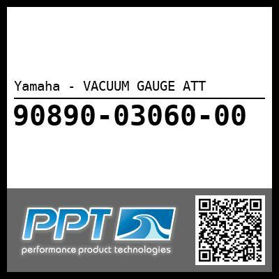 Yamaha - VACUUM GAUGE ATT