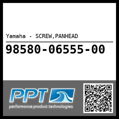 Yamaha - SCREW,PANHEAD