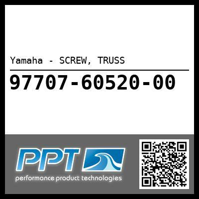 Yamaha - SCREW, TRUSS