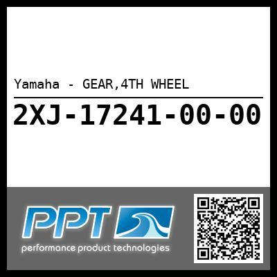 Yamaha - GEAR,4TH WHEEL