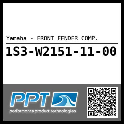 Yamaha - FRONT FENDER COMP.