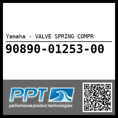 Yamaha - VALVE SPRING COMPR