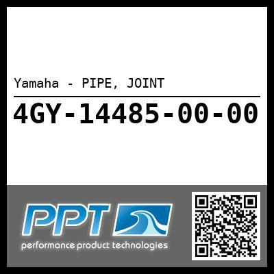 Yamaha - PIPE, JOINT