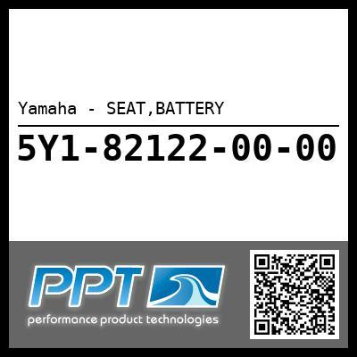 Yamaha - SEAT,BATTERY