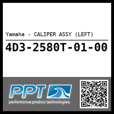 Yamaha - CALIPER ASSY (LEFT)