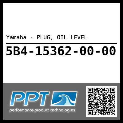 Yamaha - PLUG, OIL LEVEL
