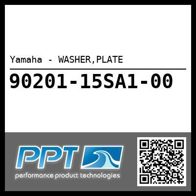 Yamaha - WASHER,PLATE