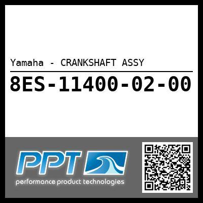 Yamaha - CRANKSHAFT ASSY