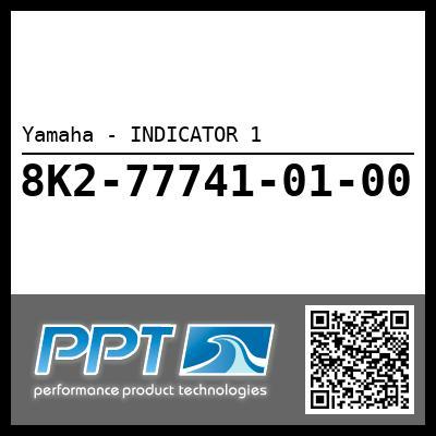 Yamaha - INDICATOR 1