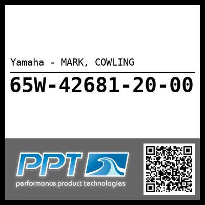 Yamaha - MARK, COWLING