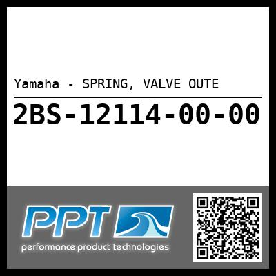 Yamaha - SPRING, VALVE OUTE