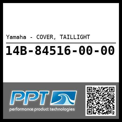 Yamaha - COVER, TAILLIGHT