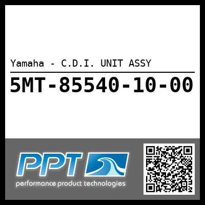 Yamaha - C.D.I. UNIT ASSY