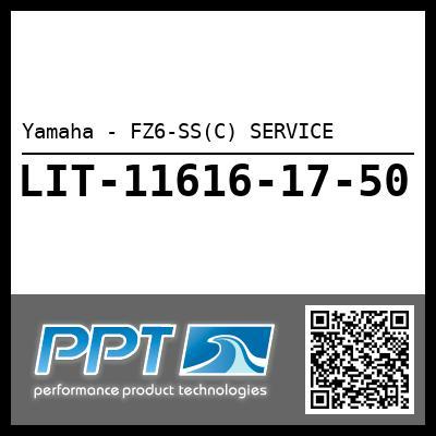 Yamaha - FZ6-SS(C) SERVICE