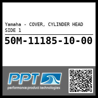 Yamaha - COVER, CYLINDER HEAD SIDE 1