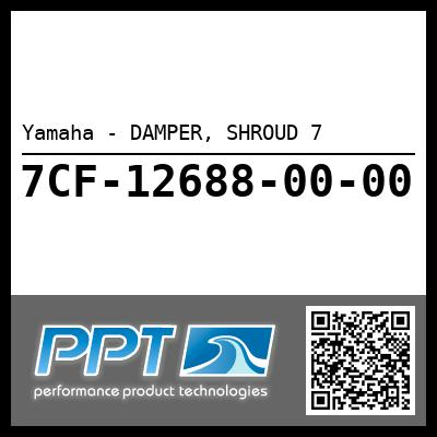 Yamaha - DAMPER, SHROUD 7