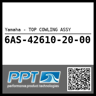 Yamaha - TOP COWLING ASSY