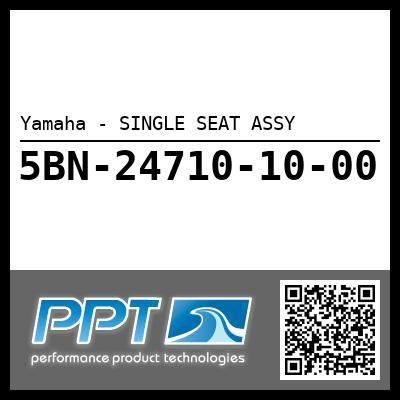 Yamaha - SINGLE SEAT ASSY