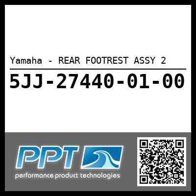 Yamaha - REAR FOOTREST ASSY 2