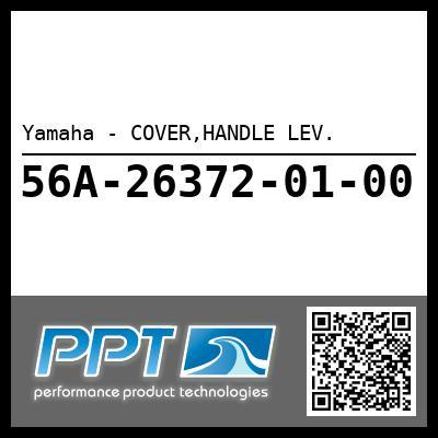 Yamaha - COVER,HANDLE LEV.