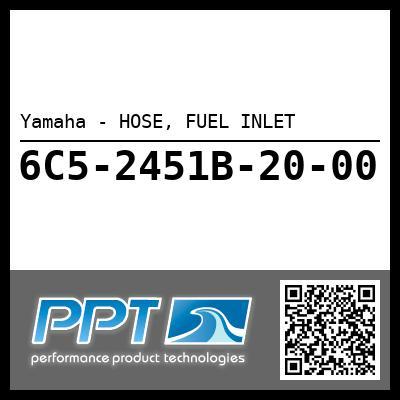 Yamaha - HOSE, FUEL INLET