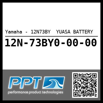 Yamaha - 12N73BY  YUASA BATTERY