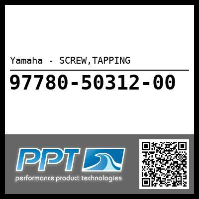 Yamaha - SCREW,TAPPING