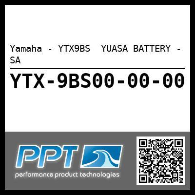 Yamaha - YTX9BS  YUASA BATTERY - SA