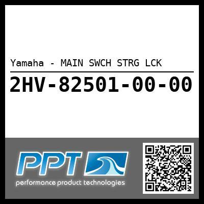 Yamaha - MAIN SWCH STRG LCK