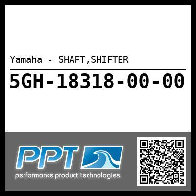 Yamaha - SHAFT,SHIFTER