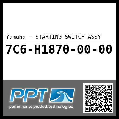 Yamaha - STARTING SWITCH ASSY