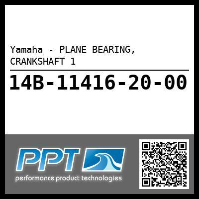 Yamaha - PLANE BEARING, CRANKSHAFT 1