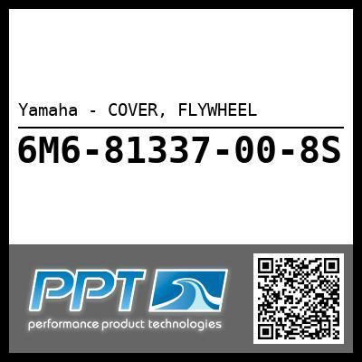 Yamaha - COVER, FLYWHEEL