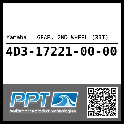 Yamaha - GEAR, 2ND WHEEL (33T)