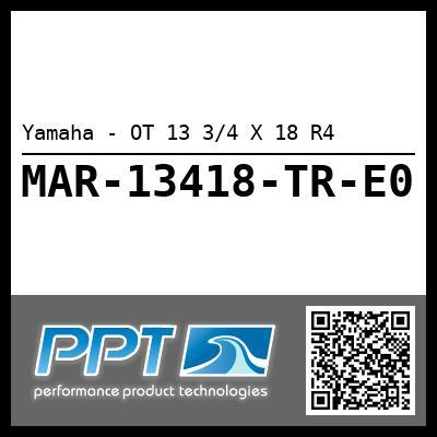 Yamaha - OT 13 3/4 X 18 R4