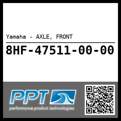 Yamaha - AXLE, FRONT